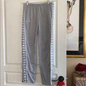 Kappa grey sweatpants size small